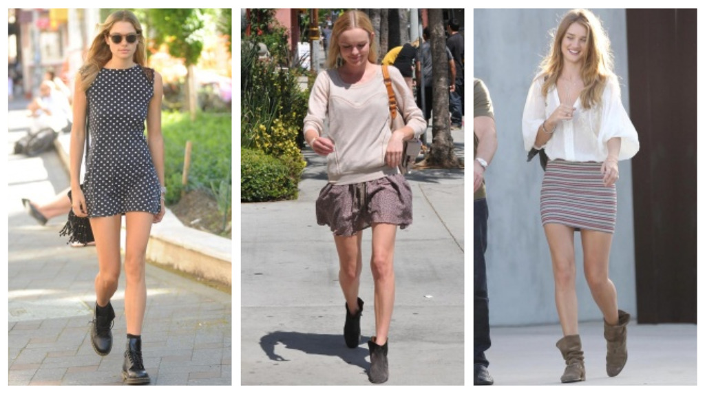 Trend Spotting Boots And Bare Legs B Jones Style