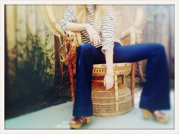"""Wide Leg Denim, Flare Jeans, J Brand LoveStory Jeans"""