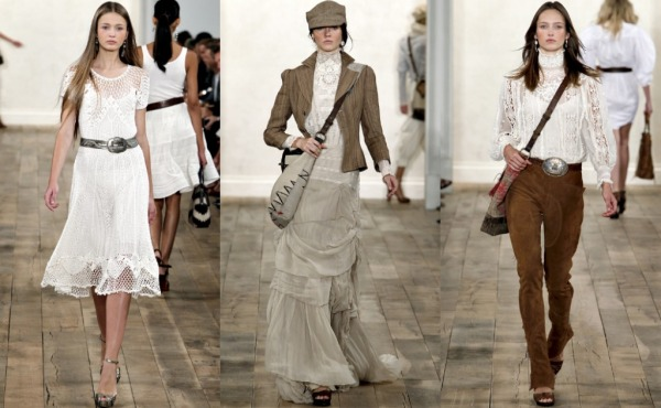 """Ralph Lauren, Spring Style, Crochet, Lace, Feminine, Personal Style"""