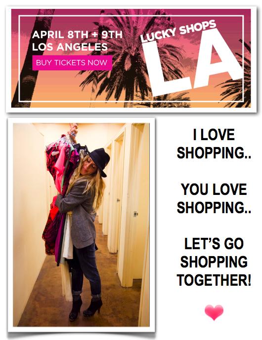 """Lucky Magazine, Lucky Shops LA, LA Shopping"""